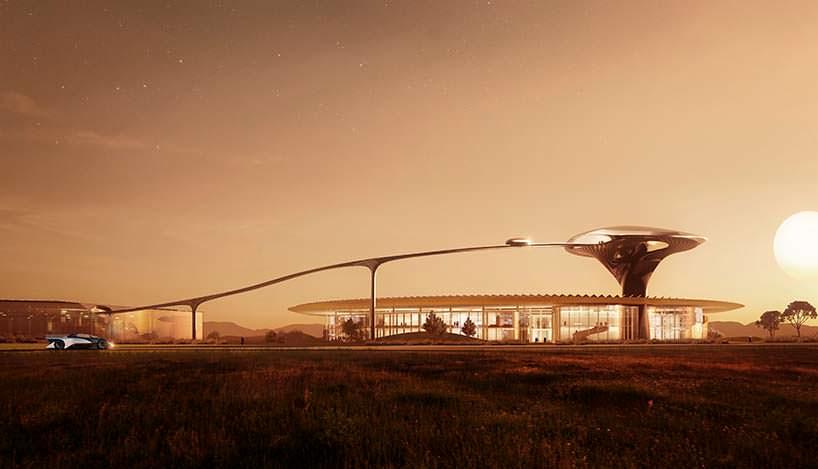 Фото   FF Zeus Campus. Проект MAD Architects
