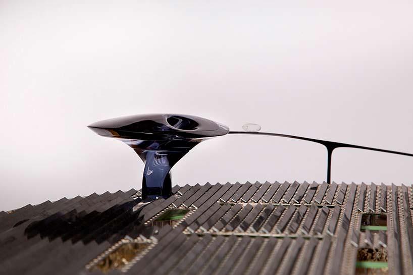 Футуристическая башня кампуса Faraday Future