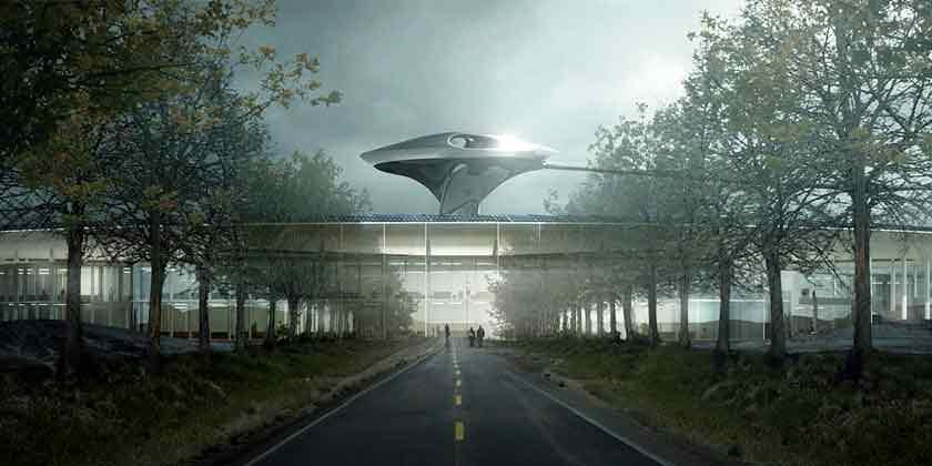 MAD Architects построит кампус Faraday Future в Калифорнии