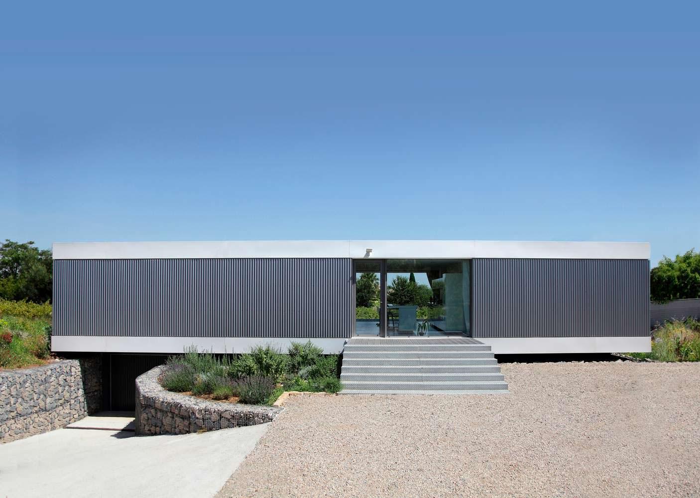Загородный дом на юге Франции. Архитектор Стефана Николаса