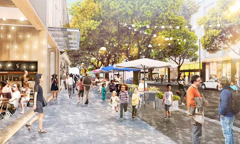 Новый кампус Facebook в Менло-Парк. Проект OMA