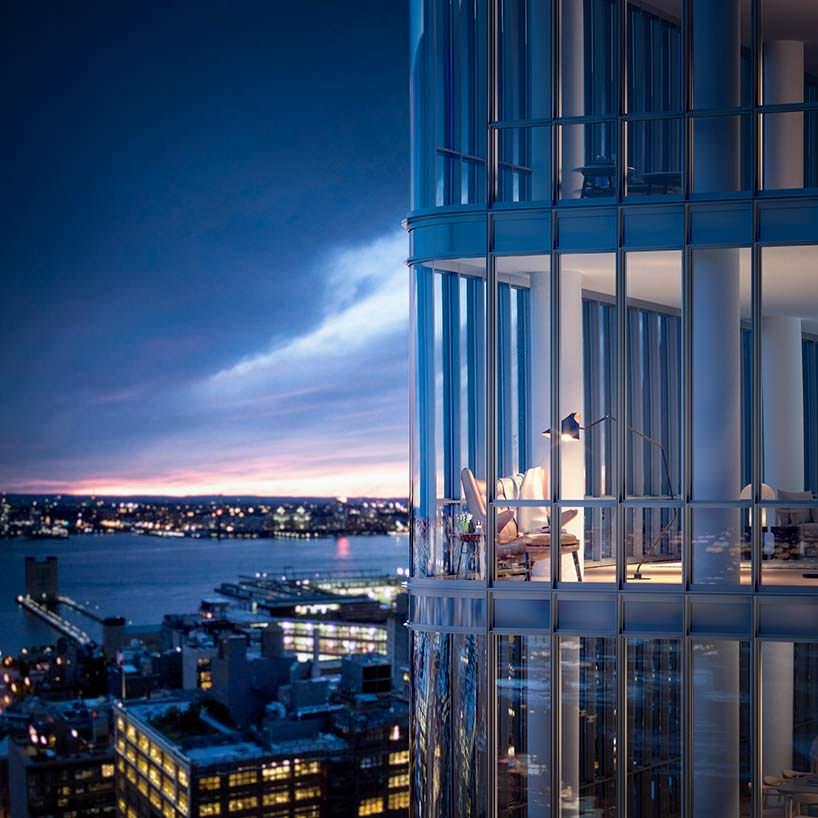 Новая башня в Нью-Йорке 565 Broome Soho от Ренцо Пиано
