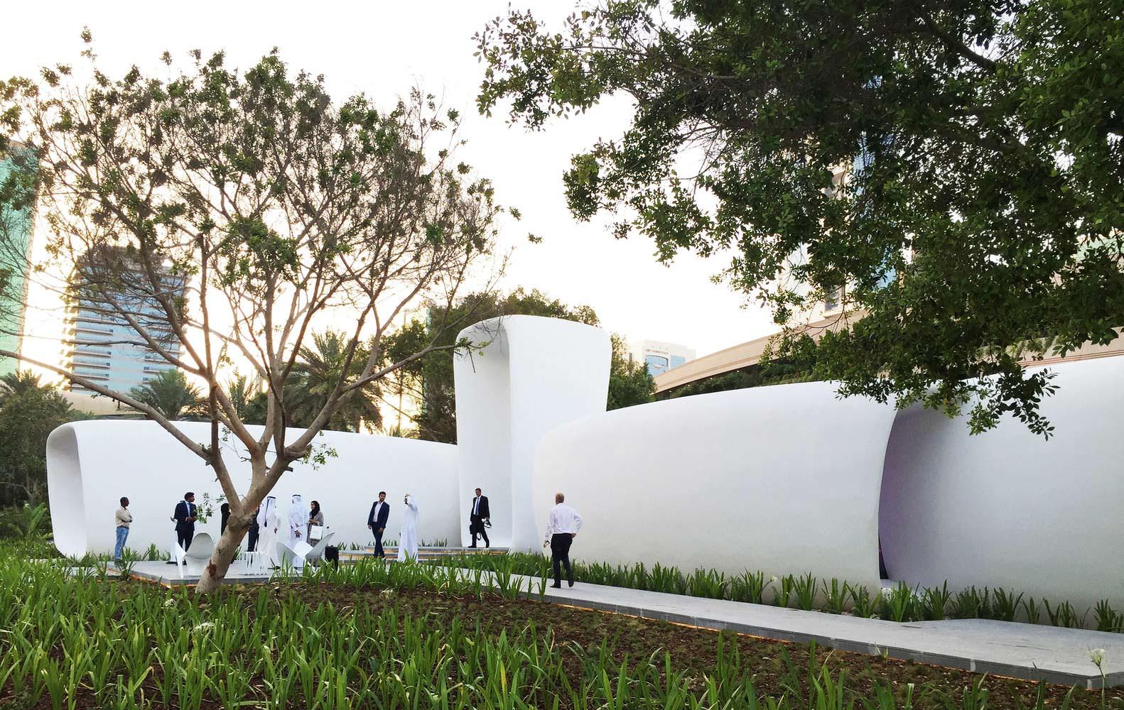 3D-здание Dubai Future Foundation. Проект Killa Design