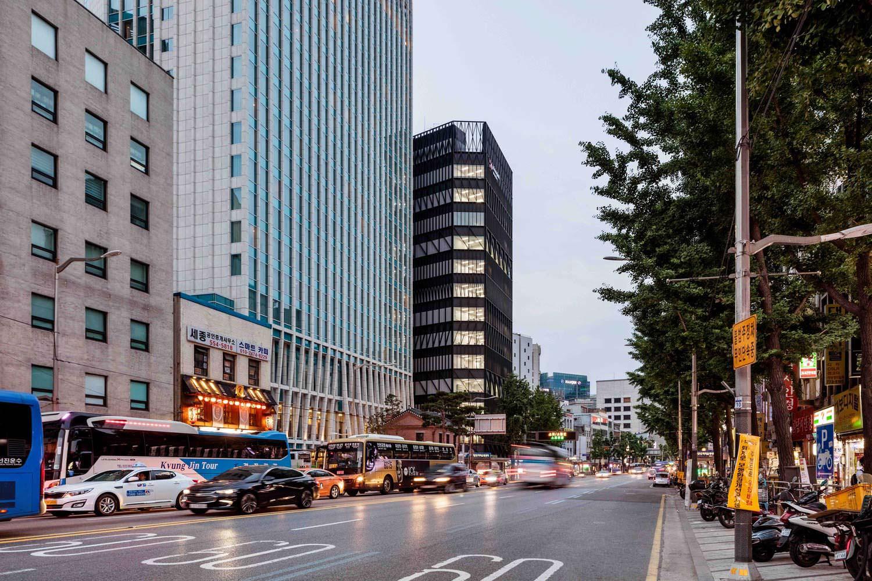 Новая башня в Сеуле. Проект Mecanoo