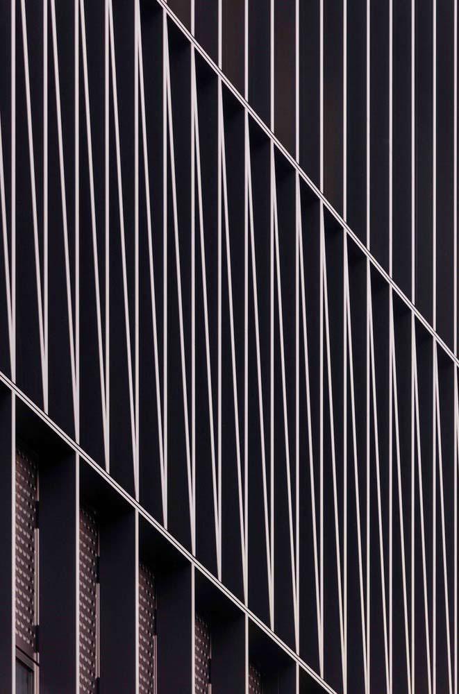 Решетчатый фасад офисной башни в Сеуле от Mecanoo