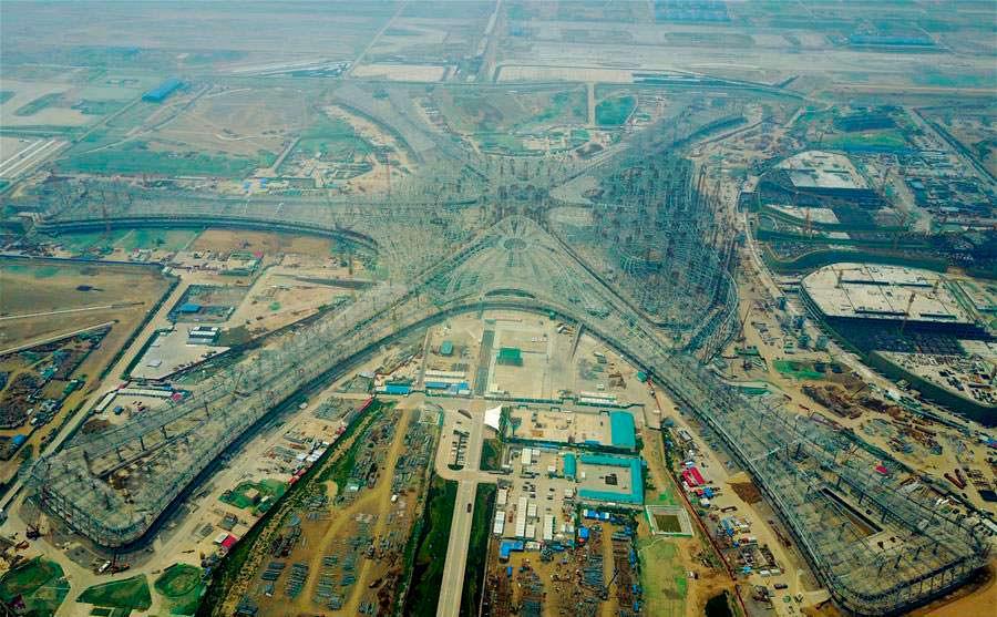 Строительство крупнейшего аэропорта мира в Пекине