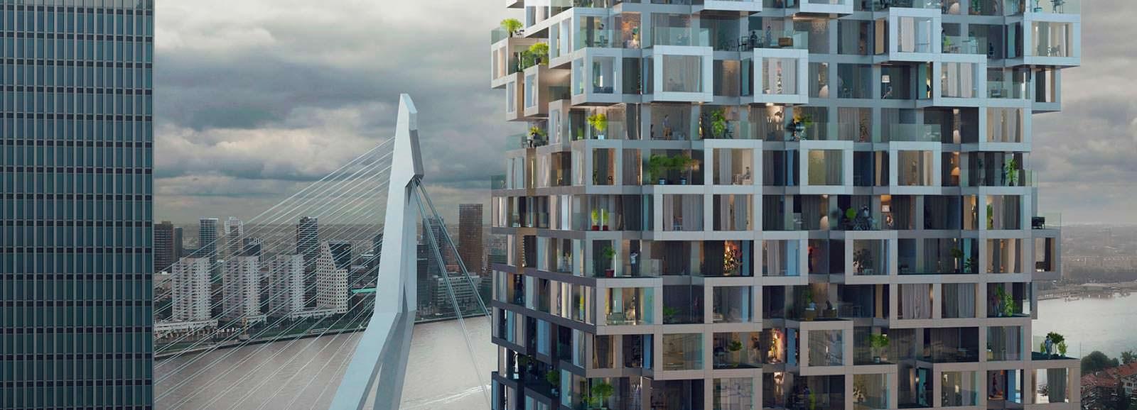 The Sax: 51-этажный комплекс смешанного использования от MVRDV