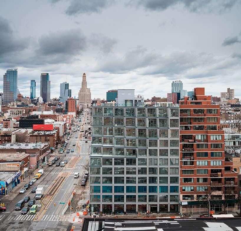 ЖК 251 1st в Бруклине, Нью-Йорк. Проект ODA Architecture