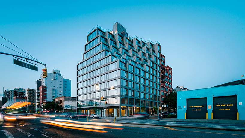 Новый ЖК 251 1st Бруклине от ODA Architecture
