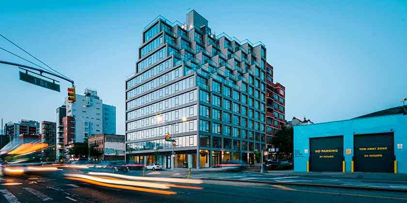 ODA построила жилой комплекс на 4-й Авеню в Нью-Йорке | фото