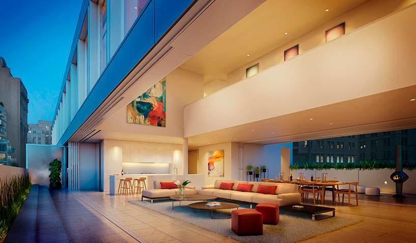 Пентхаус в Нью-Йорке. Архитектор Сигэру Бана