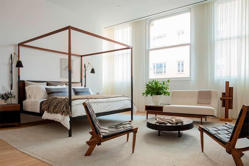 Шикарный интерьер спальни от Брэда Форда