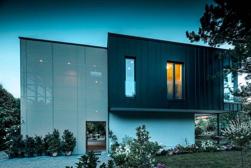 Современный дом дачника от Viereck Architekten