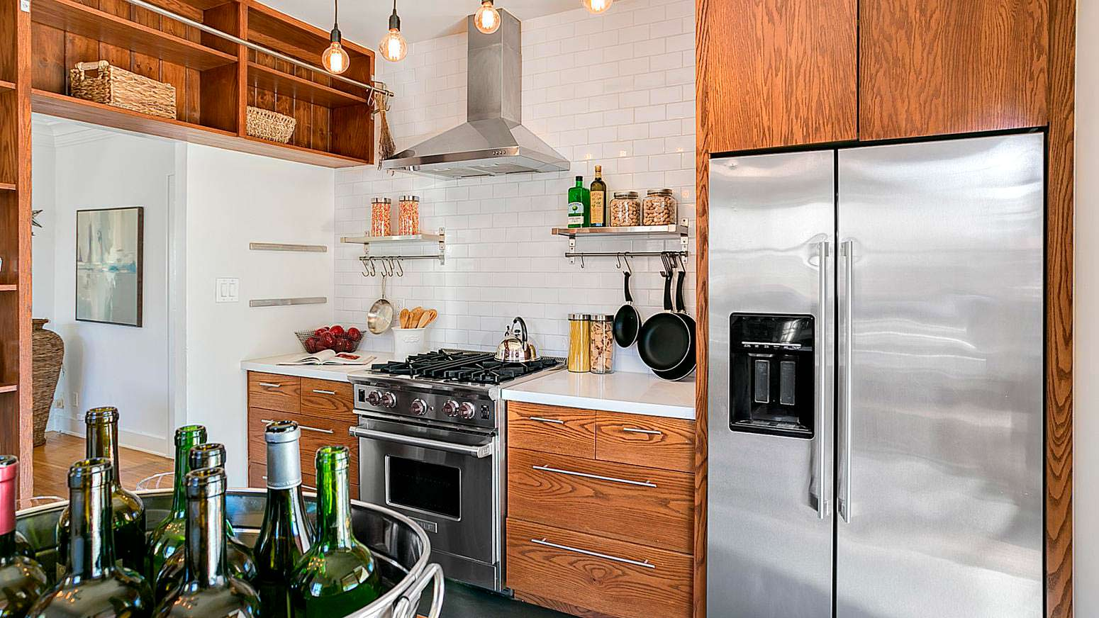 Практичная маленькая кухня