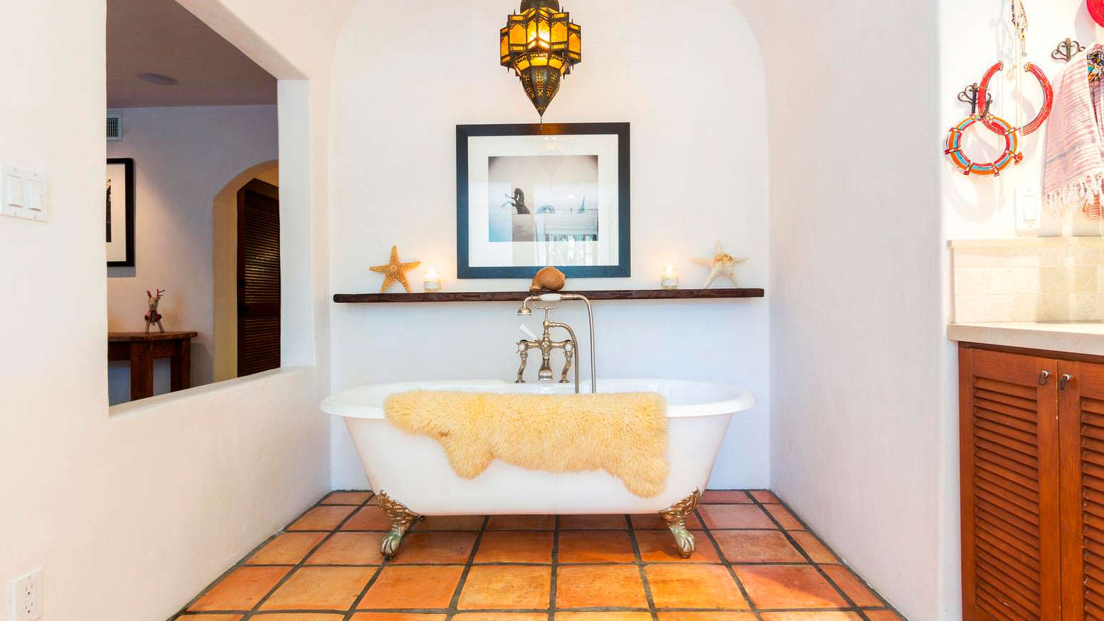 Ванная в марокканском стиле