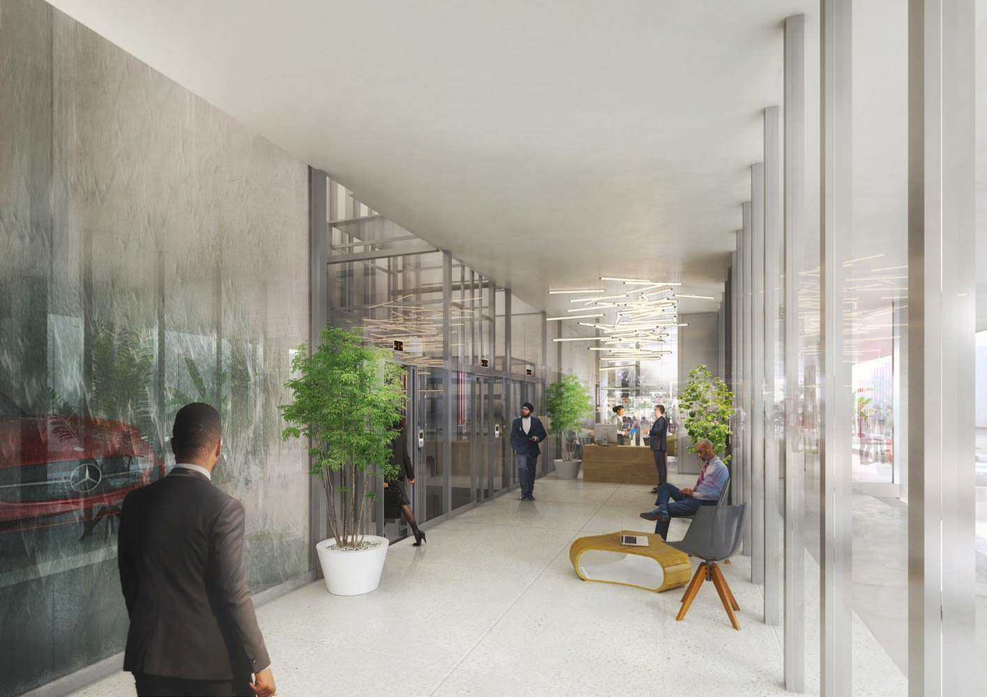 Интерьер комплекса Veranda Offices от MVRDV