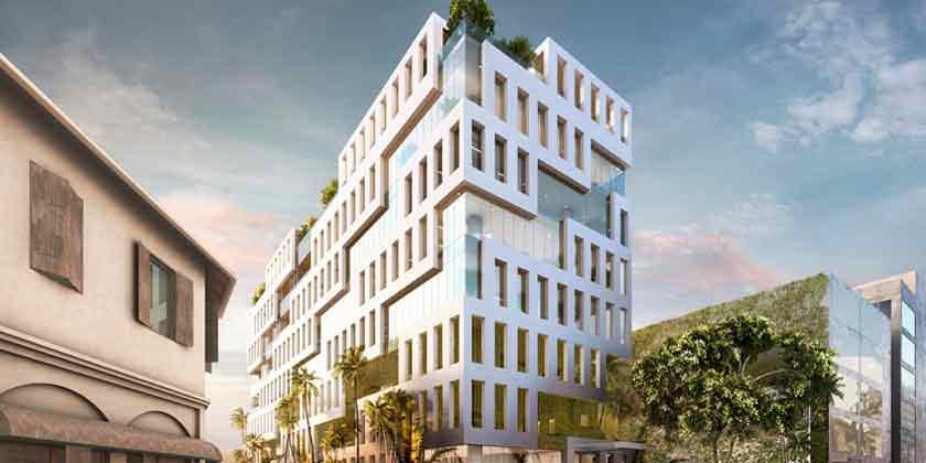 MVRDV показал новый офисный комплекс для Шри-Ланки