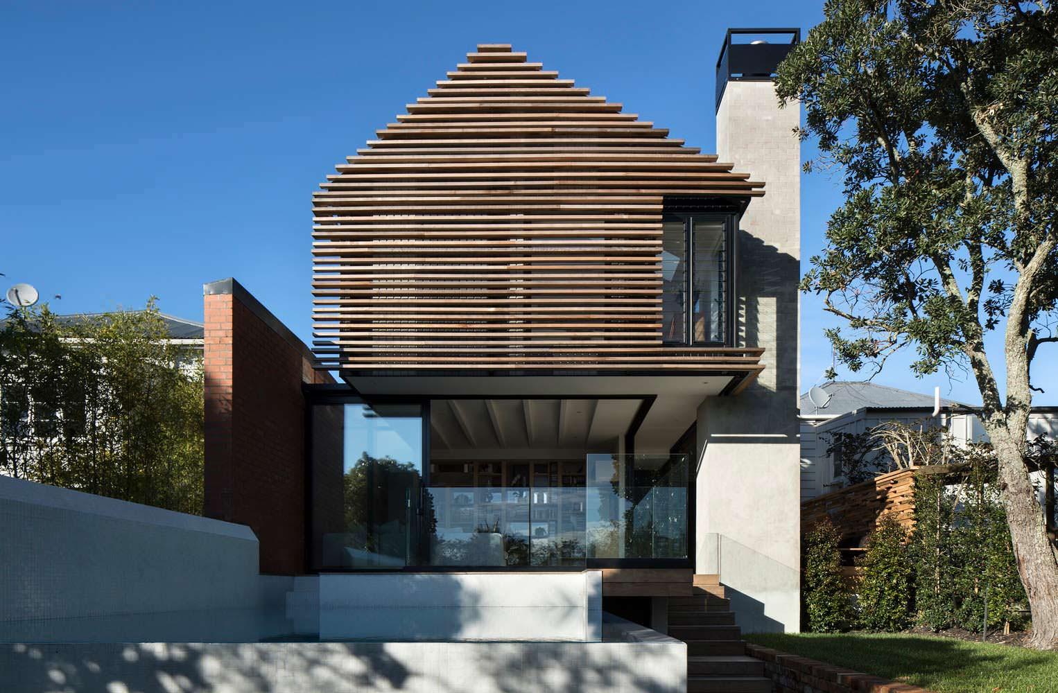 Tree Villa в Окленде, Новая Зеландия. Проект Matter