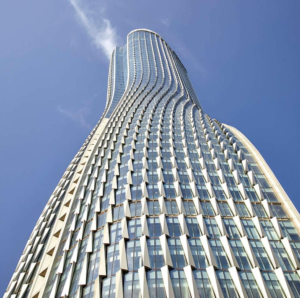 Raffles City: 60-этажные башни в Гуанчжоу от UNStudio