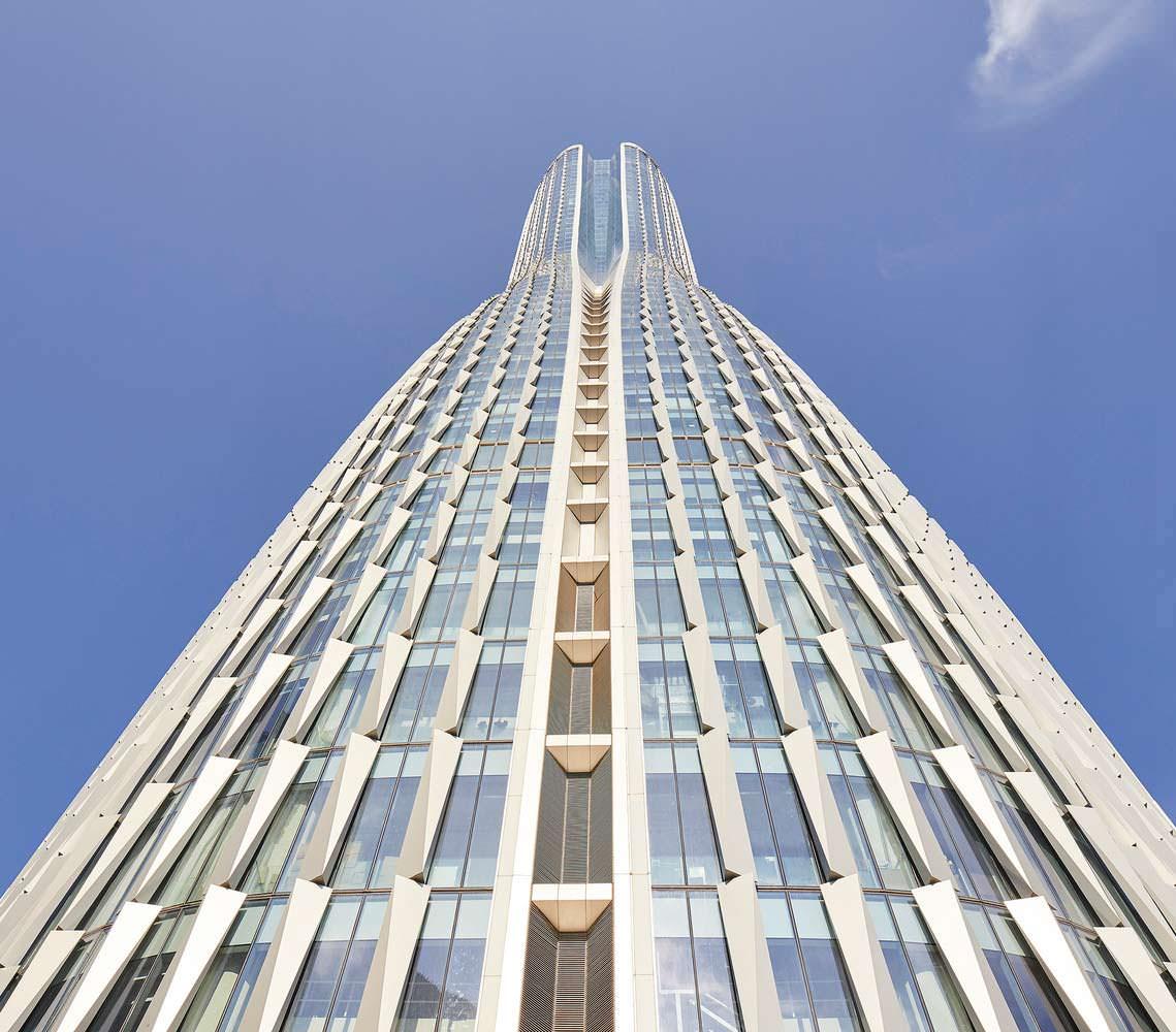 Raffles City: 60-этажные небоскребы в Гуанчжоу от UNStudio