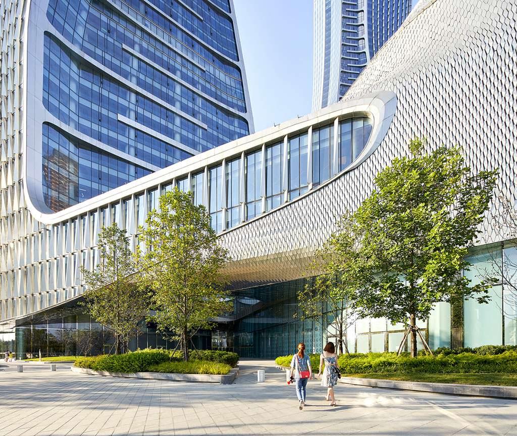 Новый комплекс Raffles City от UNStudio в Гуанчжоу