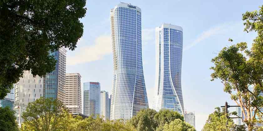 UNStudio построит в Гуанчжоу деловой хаб из небоскребов