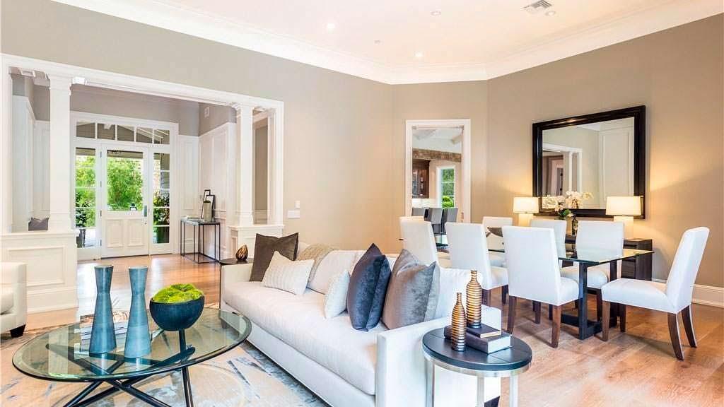 Современный дизайн интерьере дома Кайли Дженнер