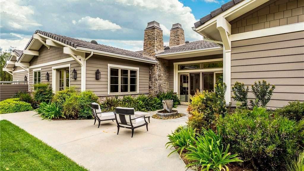 Дом в традиционном стиле модели Кайли Дженнер
