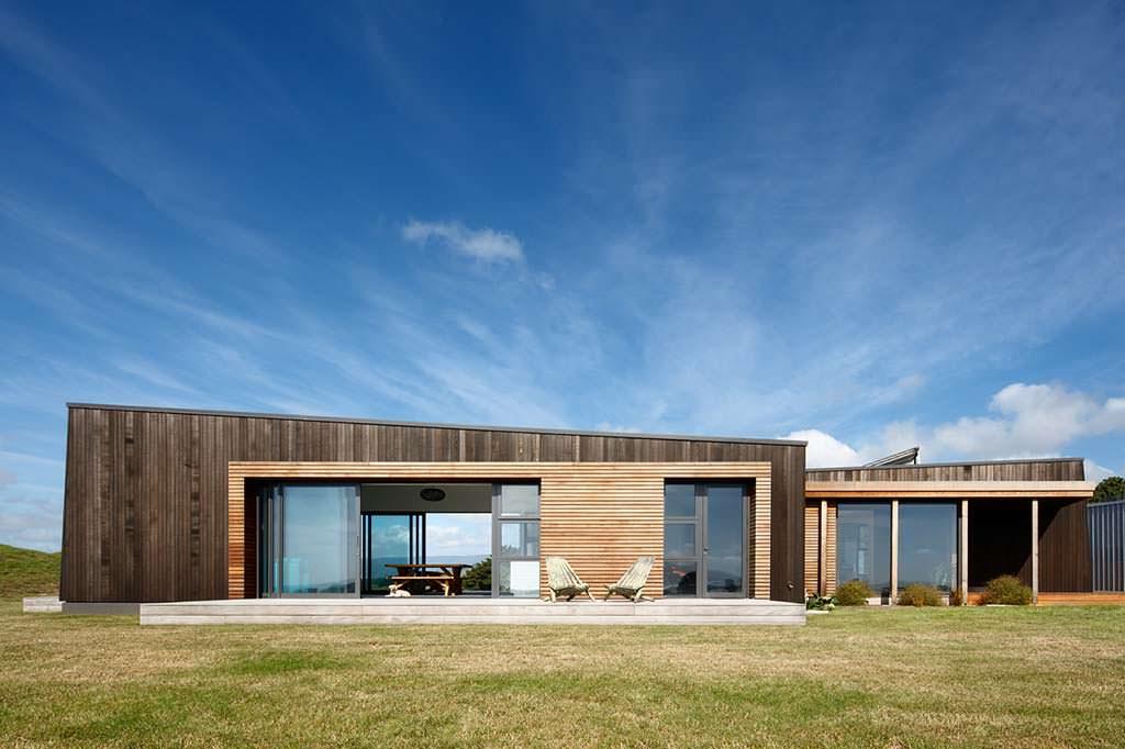 Современный дом на вершине холма. Herriot Melhuish O'Neill Architects