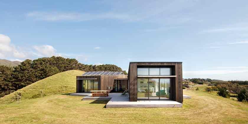 Дом в Новой Зеландии рядом с пляжем Пика Пика