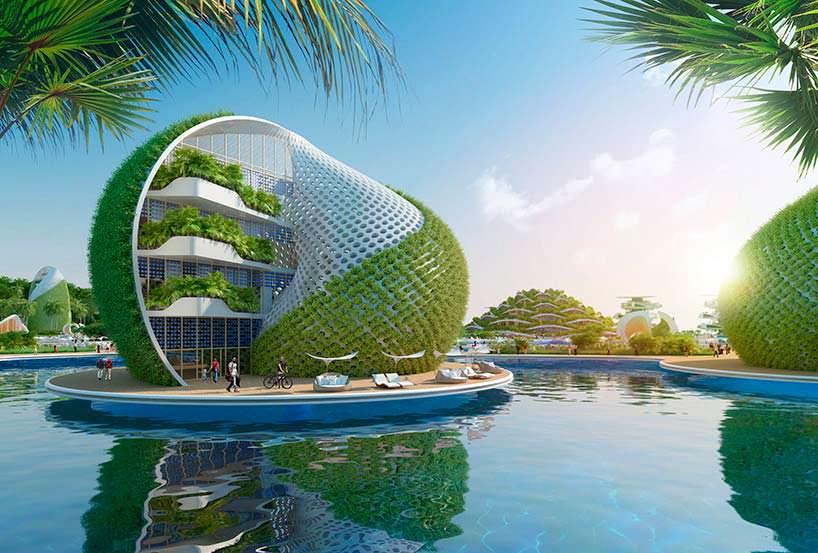 Nautilus Eco-Resort - эко-бухта от Винсента Каллебо