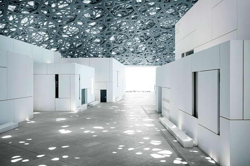 Художественный музей Лувр Абу-Даби: купол 180 метров в диаметре