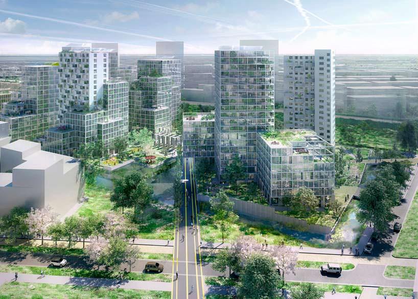 Многоквартирный комплекс из тюрьмы в Амстердаме от OMA
