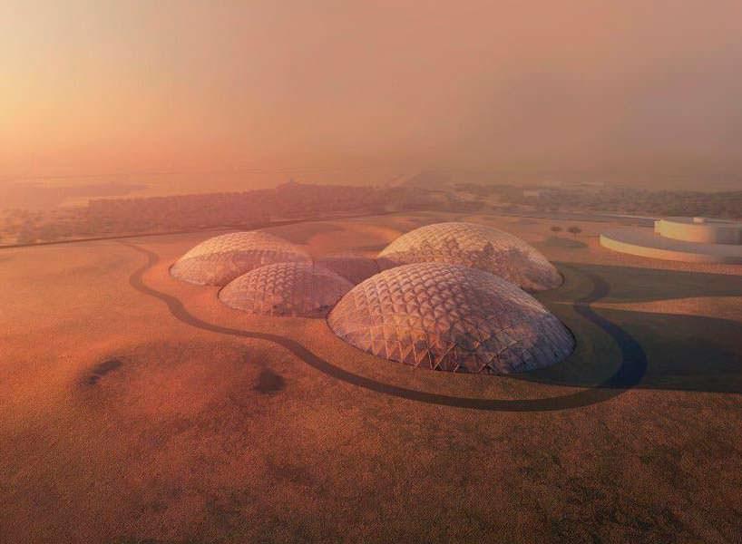 Космический симулятор в пустыне Дубая. Проект BIG