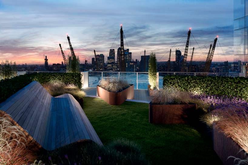 Upper Riverside: панорамная крыша с видом на арену O2 в Лондоне