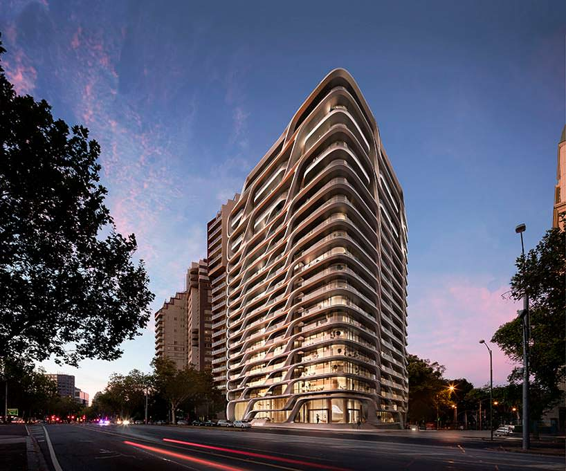Фото | Башня Mayfair для Мельбурна от Zaha Hadid Architects