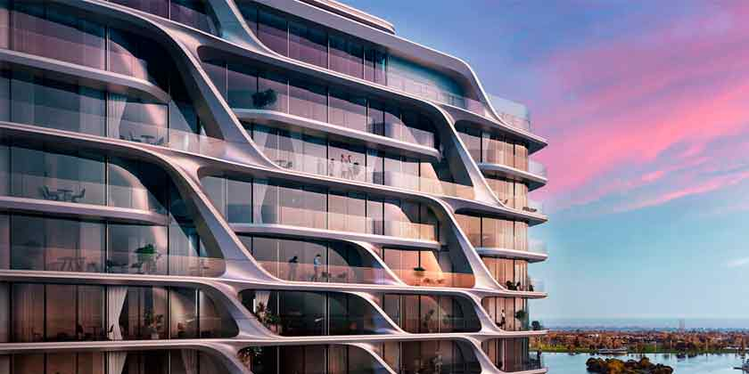 Zaha Hadid Architects построит футуристический ЖК в Мельбурне