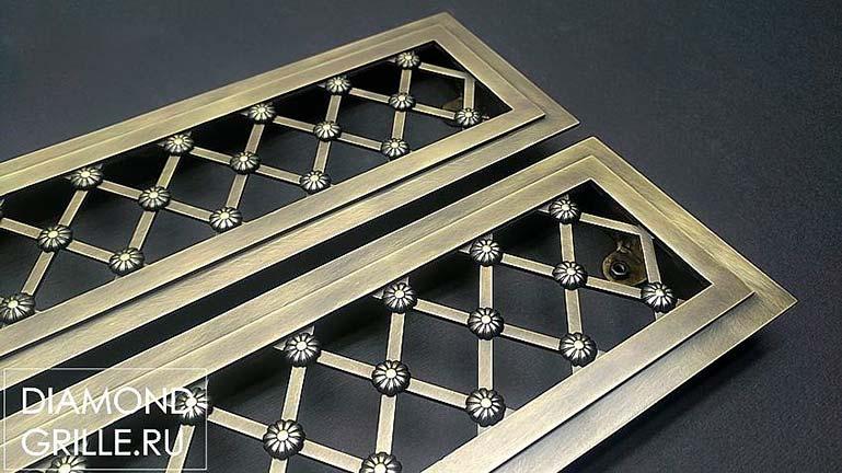 Diamond Grille: декоративные решетки от производителя