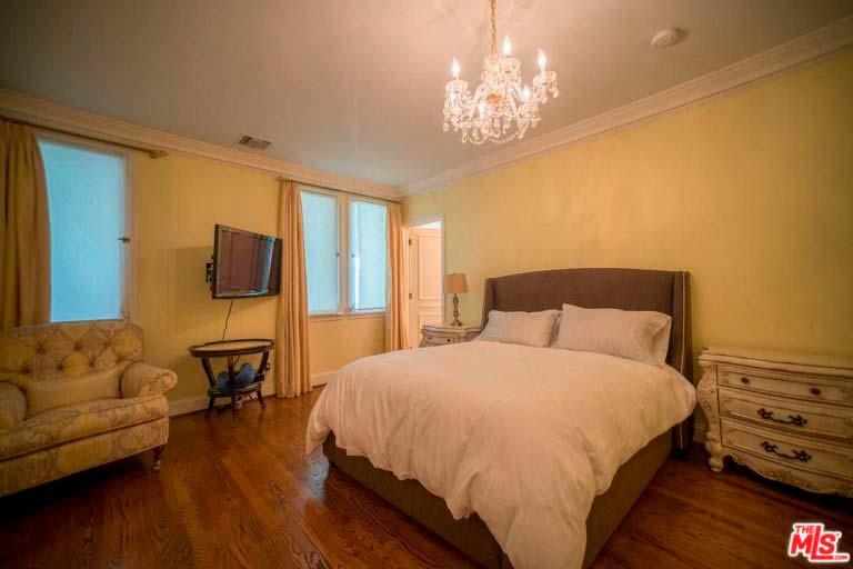 Спальня в доме Серены Уильямс