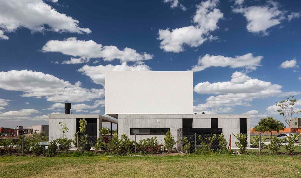 Хай-тек дом House N. Дизайн от Estudio GM ARQ
