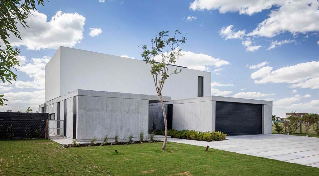 Дом в стиле хай-тек House N. Дизайн от Estudio GM ARQ