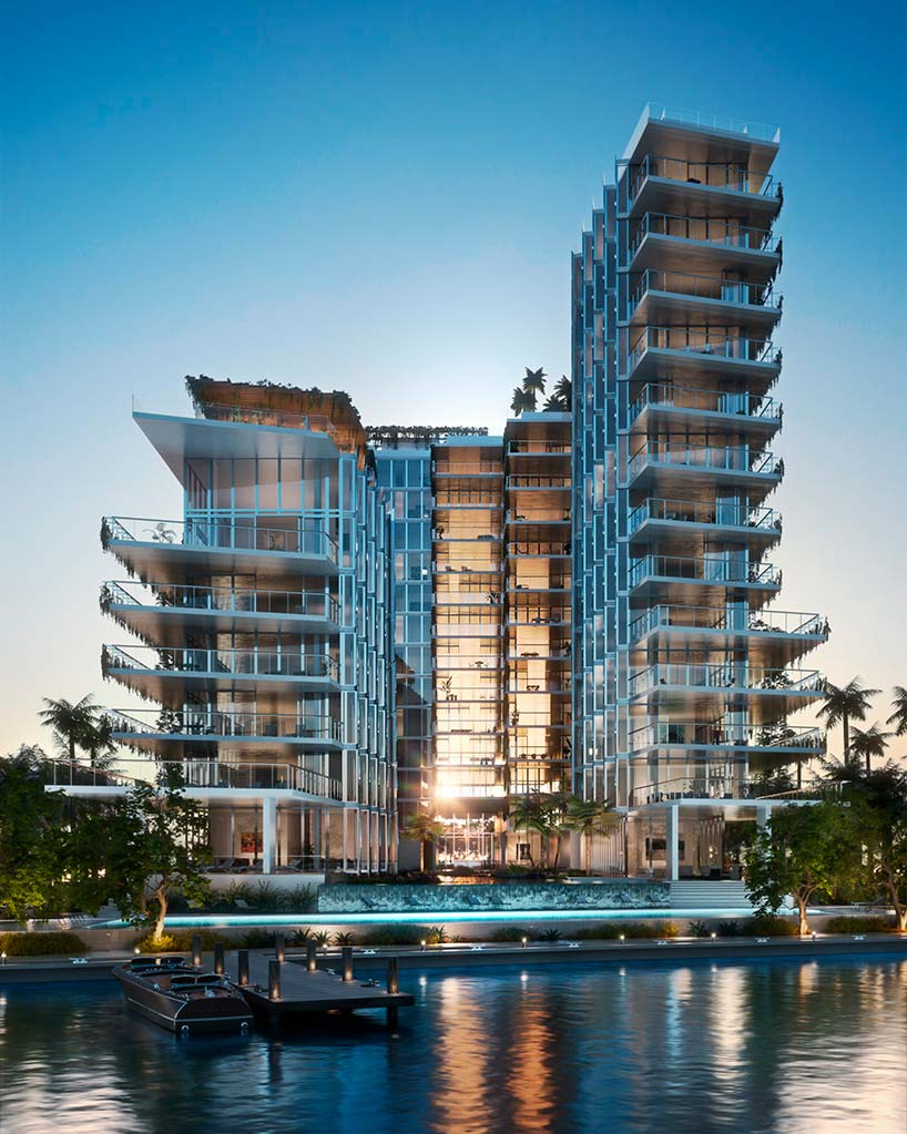 Элитный ЖК Monad Terrace на берегу океана в Майами