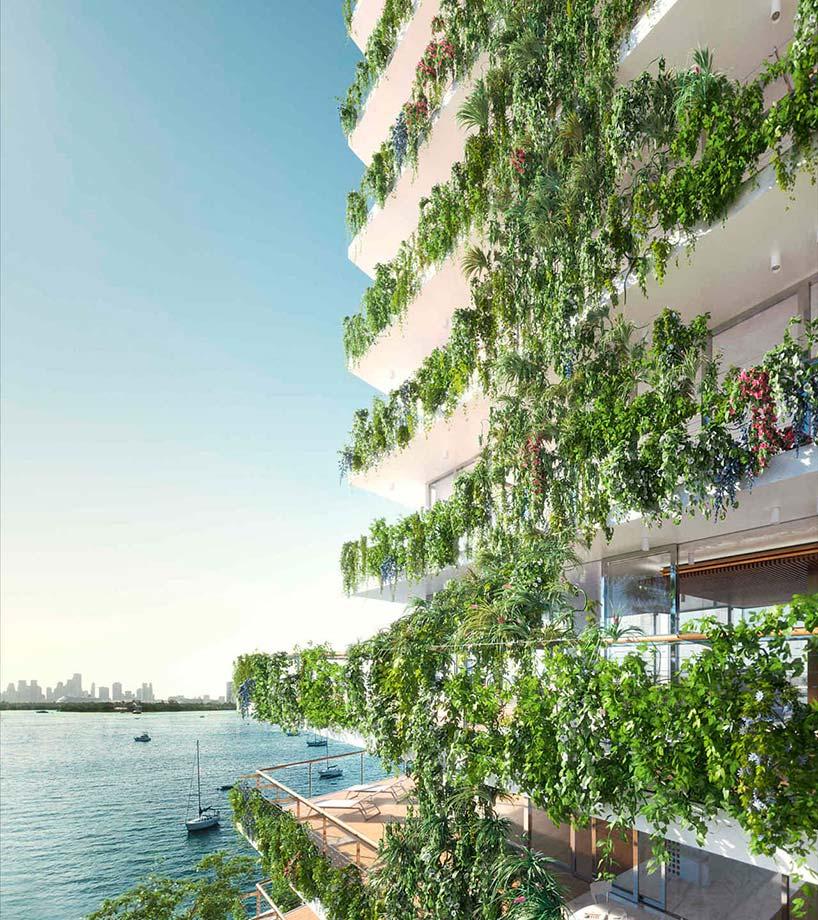 ЖК Monad Terrace на берегу океана в Майами от Жана Нувеля