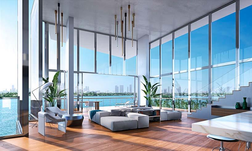 Элитная квартира в ЖК Monad Terrace от Жана Нувеля