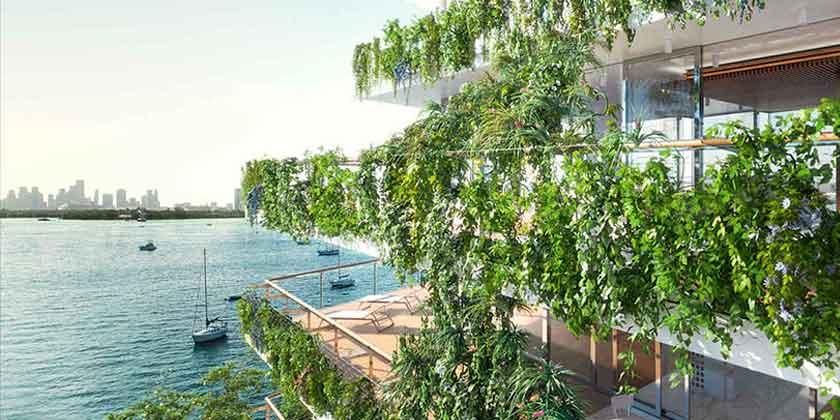 В Майами началось строительство элитного ЖК от Жана Нувеля