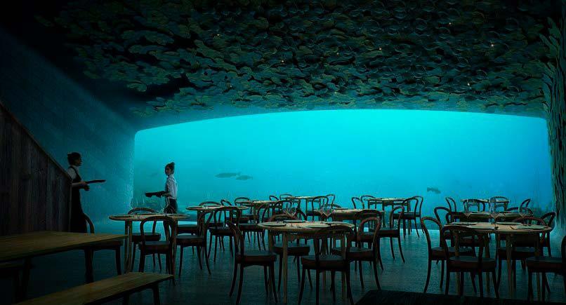 Under: ресторан под водой в Северном море. Проект Snøhetta
