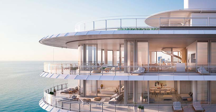 Eighty Seven Park: элитные квартиры с видом на океан