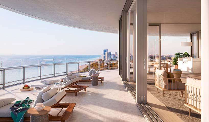 Eighty Seven Park: элитные квартиры на берегу океана в Майами