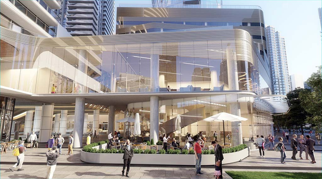 Бизнес-кластер в Торонто One Yonge от Сиамака Харири