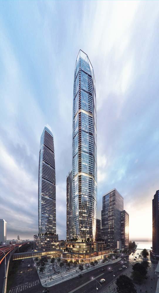 Небоскребы в Торонто. Проект Hariri Pontarini Architects